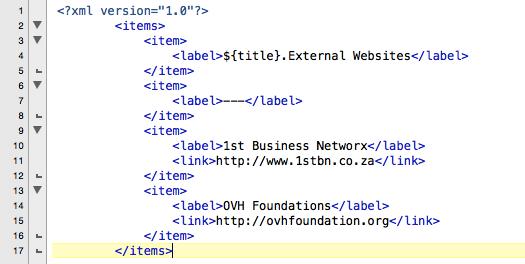 OVH System Tray XML Node